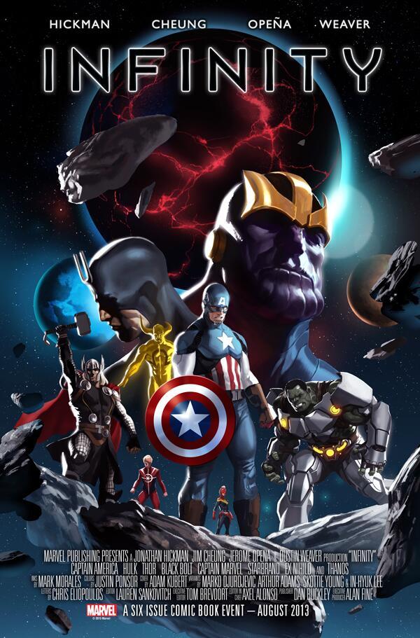infinity marvel